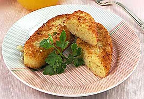 Сырно-рисовые пирожки