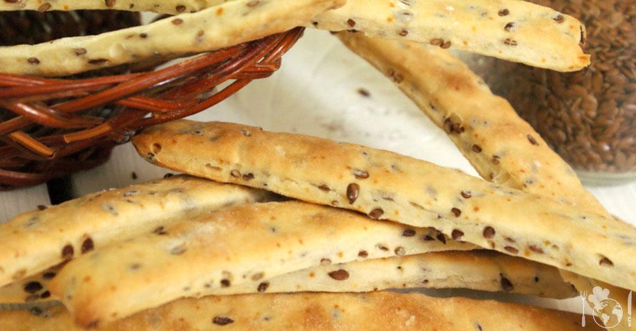 Пісне печиво з лляним насінням