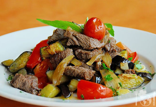 Мясные блюда, Блюда из баклажанов, рецепты с фото на ...