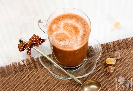 Какао с яичным желтком