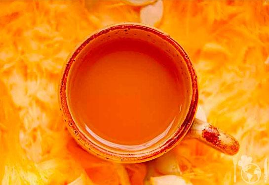 Крыжовниково-морковный сок